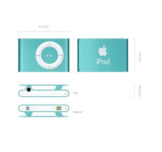 iPod Shuffle Evolite Grepon Bot (Polar Bere Hediyeli)
